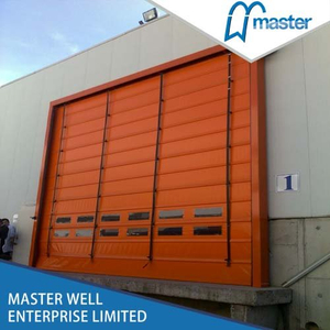 Insulated Interior High Speed PVC Stacking Doors