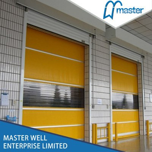 Automatic Commercial PVC High Speed Roll Up Door