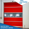 Insulated High Speed PVC Shutter Car Wash Doors