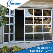 9x7 Modern Anodized Aluminum Glass Garage Door