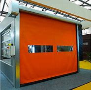 Insulated High Speed PVC Zipper Interior Doors