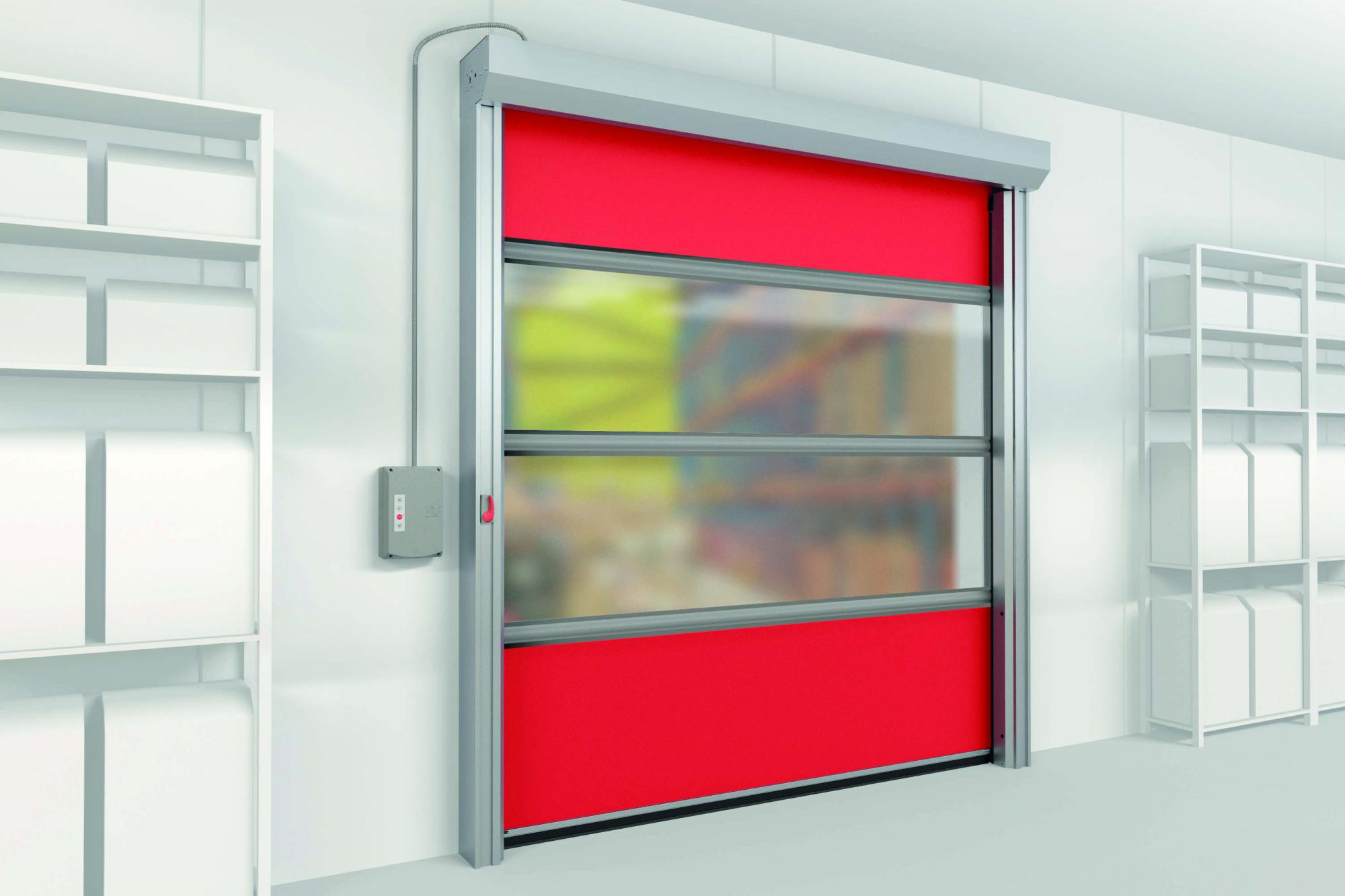 What is the specification for High Speed PVC Roll up Doors?