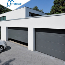 Manually Open Residential Perforated Double Fiberglass Roll Up Garage Doors