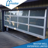12 X 8 Frameless Plexiglass Glass Aluminum Garage Door