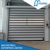 Easy Operational Logistics Sound Proofing PU Foam Spiral High Speed Hard Fast Rolling Doors