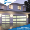 Houses Modern Frosted Glass Alumium Garage Door