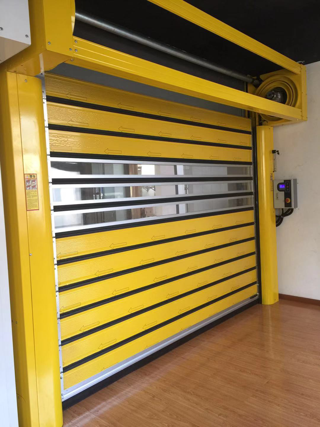 The Specification of High Speed Spiral Doors
