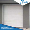 Turbine Motor Garage Thermal Insulated PU Foam Spiral High Speed Hard Fast Rolling Doors