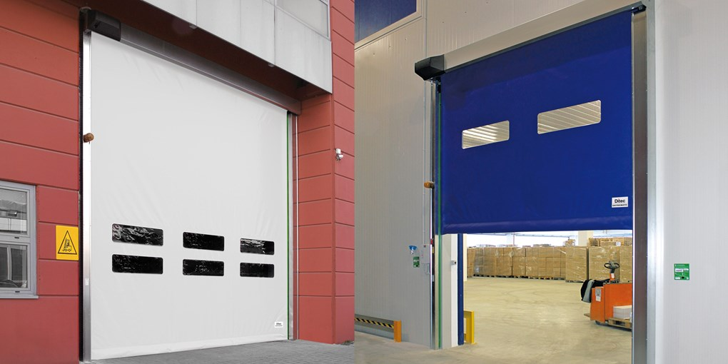 What are the Advantages of High Speed PVC Self Repairing Zipper Doors?