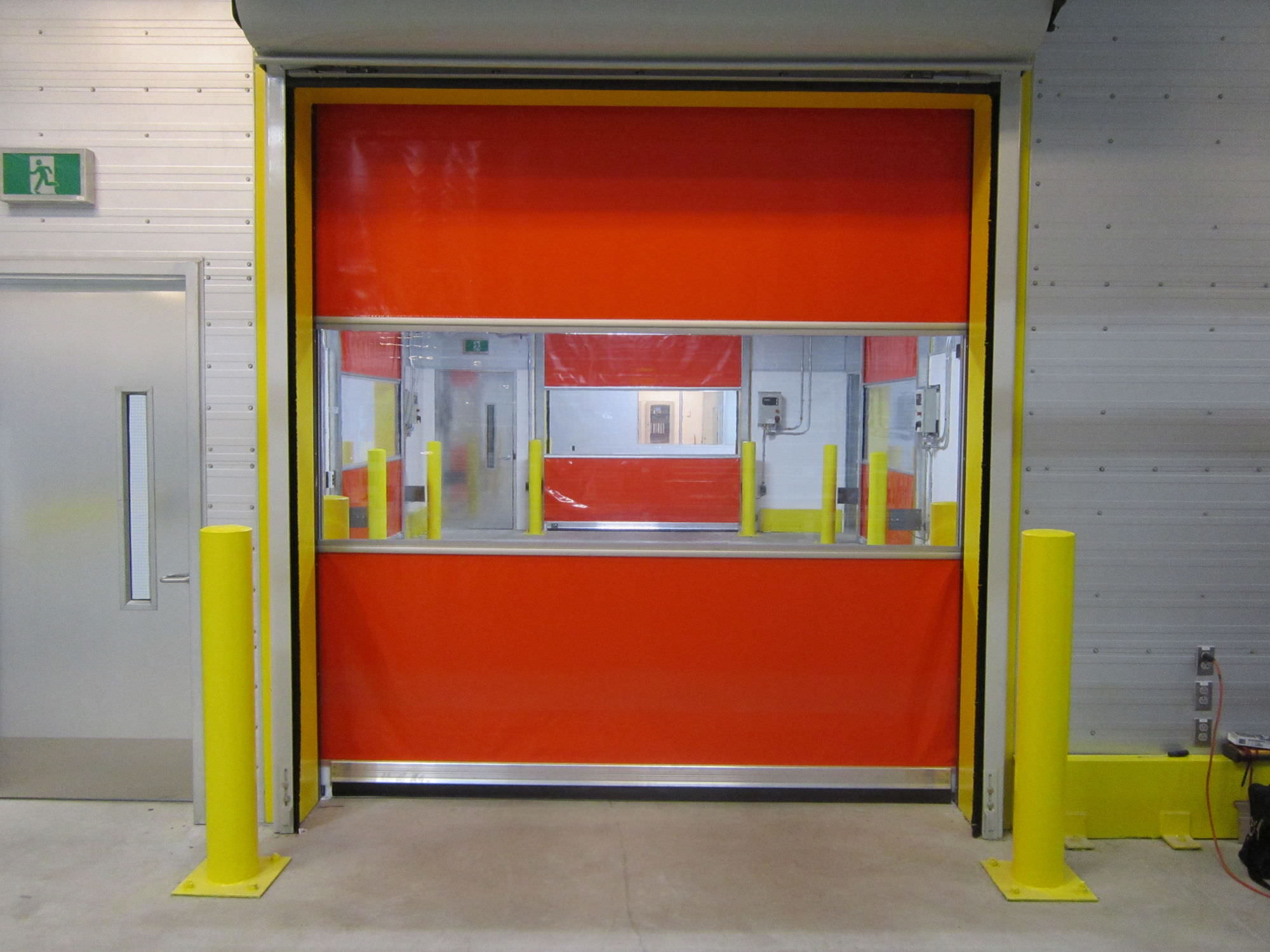 Appearance of High Speed PVC Roll Up Doors