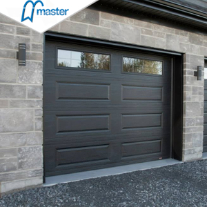 Electric Commercial Insluted Steel Roll Up Garage Doors with Windows