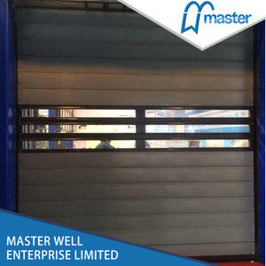 Strong Commercial Security Aluminum Alloy Spiral High Speed Hard Fast Shutter Doors
