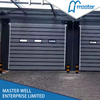 Simple Warehouses Temperature Proofing Fiberglass Spiral High Speed Hard Fast Rolling Doors