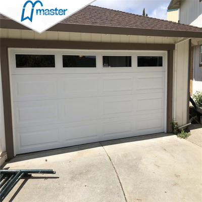 Remote Control Carriage House Insluted Steel Overhead Sectional Garage Doors