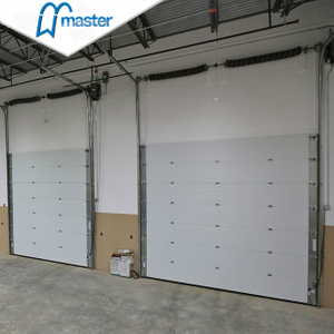 Electrical Timber Secure Insulated Industrial Sliding Doors with Access