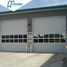 Automatic Plastic Insulated Industrial Folding Doors with Windows