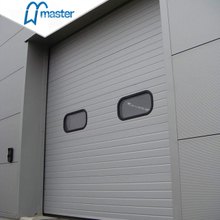 Electrical Exterior Glass Insulated Industrial Sliding Doors with Acce