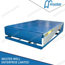 8T Air Powered Exterior Container Loading Dock Leveller