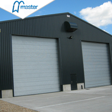 Electrical Fireproof Steel Vertical Lift Industrial Doors with Entrance