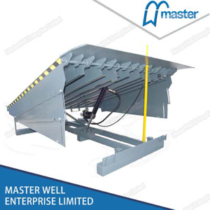 Mechanical Vertical Truck Loading Dock Leveler
