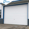 Fast Action PU Foam Secure Insulated Industrial Folding Doors with Glass