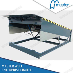 6x8 Hydraulic Vertical Warehouse Loading Dock Leveller