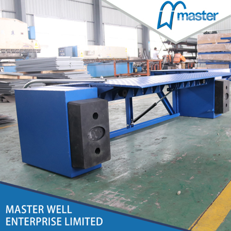 Mechanical Vertical Container Loading Dock Leveler