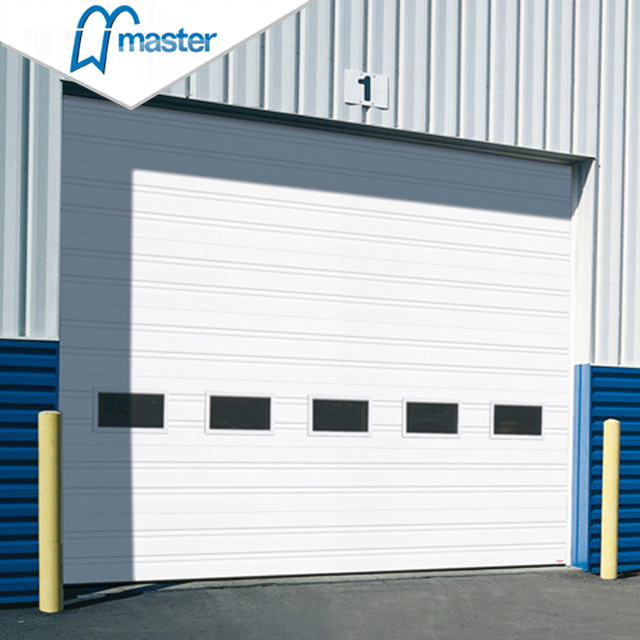 Fast Action PU Sandwich Panel Secure Insulated High Speed Industrial Doors